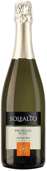 """Игристое вино Contarini, """"Solealto"""" Prosecco DOC Extra Dry"""