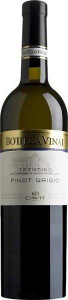 "Вино Cavit, ""Bottega Vinai"" Pinot Grigio, Trentino DOC 2015"