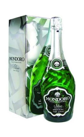 Игристое вино Mondoro Silver gift box 0.75л