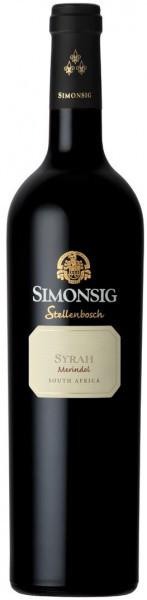 """Вино Simonsig, """"Merindol"""" Syrah, 2012"""