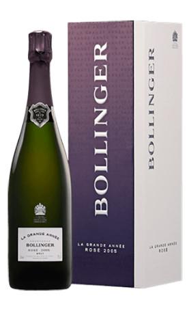 Шампанское Bollinger Grande Annee Rose Brut 2007 0.75л