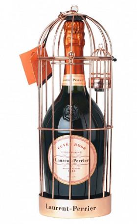 Шампанское Laurent-Perrier Cuvee Rose Brut in cage 0.75л