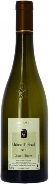 Вино Domaine La Haute Fevrie, Chateau-Thebaud, Muscadet Sevre Et Maine AOC, 2012