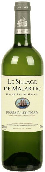 "Вино ""Le Sillage De Malartic"" Blanc, 1999"