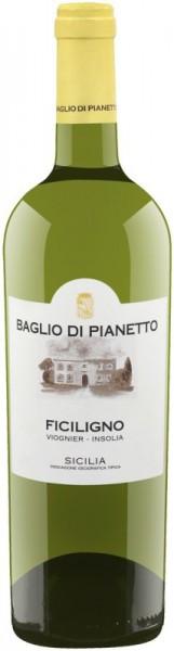 """Вино Baglio di Pianetto, """"Ficiligno"""" Viognier-Inzolia, Sicilia IGT, 2014"""