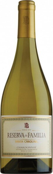 """Вино Santa Carolina, """"Reserva de Familia"""" Chardonnay"""