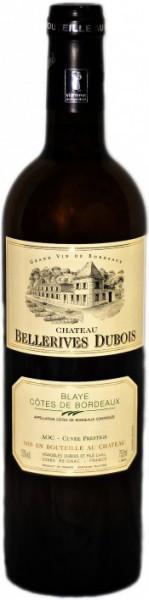 """Вино """"Chateau Bellerives Dubois"""" Blanc, Cotes de Bordeaux AOC, 2011"""