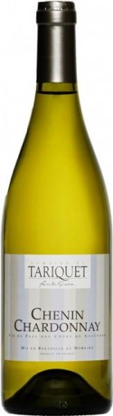 Вино Domaine du Tariquet, Chenin-Chardonnay, Cotes de Gascogne VDP, 2013