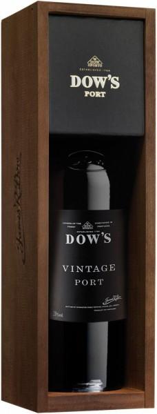 Вино Dow's Vintage Port, Douro, 2013, wooden box
