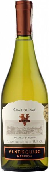 "Вино Ventisquero, ""Reserva"" Chardonnay, Valle de Casablanca DO, 2013"