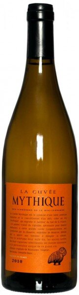 Вино Val d'Orbieu-Uccoar, La Cuvee Mythique Blanc, Pays d'Oc IGP, 2010