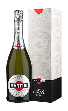 Асти Martini Asti gift box 0.75л