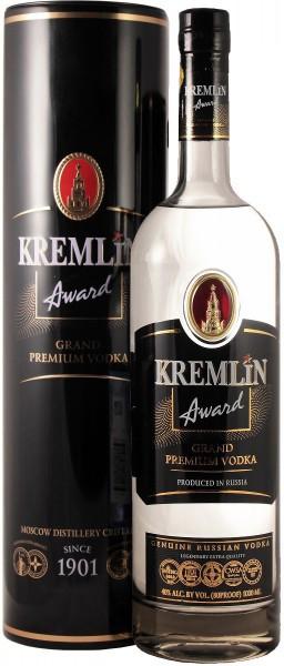 "Водка ""Kremlin Award"", metal tube, 1 л"