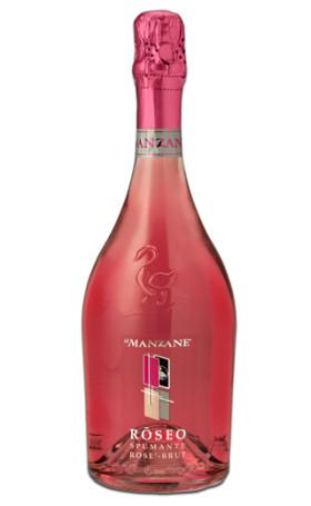 Игристое вино Le Manzane Roseo Spumante 0.75л