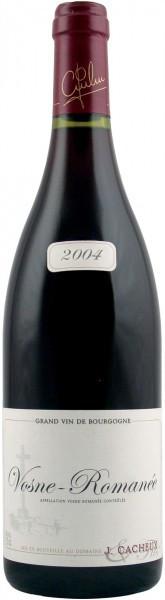 """Вино Domaine Jacques Cacheux, Vosne-Romanee """"Les Chalandins"""", 2004"""