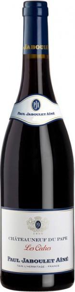 """Вино Paul Jaboulet Aine, """"Les Cedres"""" Rouge, Chateauneuf du Pape AOC, 2009"""