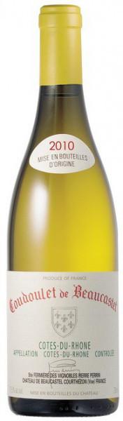 """Вино Perrin et Fils, """"Coudoulet de Beaucastel"""", Cotes du Rhone AOC, 2010"""