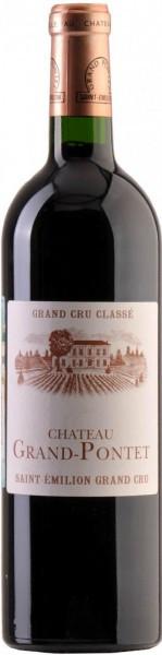 Вино Chateau Grand-Pontet, Saint-Emilion Grand Cru AOC, 2002