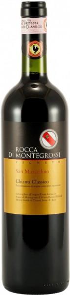 """Вино Rocca di Montegrossi, Vigneto """"San Marcellino"""", Chianti Classico DOCG, 2009"""