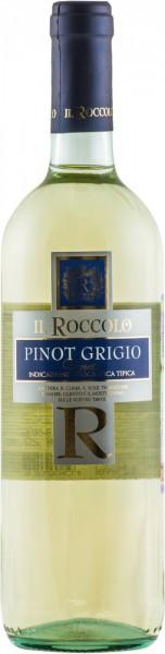 "Вино Natale Verga, ""Il Roccolo"" Pinot Grigio, Veneto IGT, 2016"