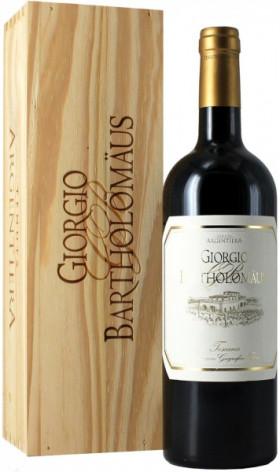 "Вино Argentiera, ""Giorgio Bartholomaus"", 2012, wooden box"