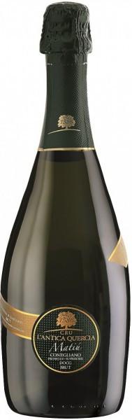 """Игристое вино L'Antica Quercia, """"Matiu"""" Brut, Conegliano Valdobbiadene Prosecco Superiore DOCG, 2011"""