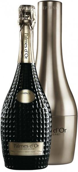 "Шампанское Nicolas Feuillatte, ""Palmes D'Or"" Brut, 1998, gift box ""Diva"""