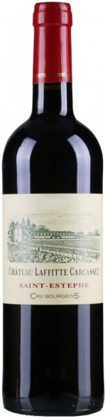 Вино Chateau Laffitte-Carcasset, Saint-Estephe AOC, 2016
