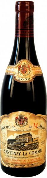 Вино Chateau de la Maltroye, Santenay La Comme Premier Cru AOC, 2006