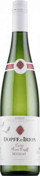 """Вино Dopff & Iron, """"Cuvee Rene Dopff"""" Muscat, Alsace AOC, 2014"""
