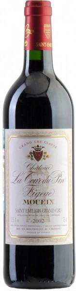 Вино Chateau La Tour du Pin Figeac, Saint-Emilion Grand Cru AOC, 2002