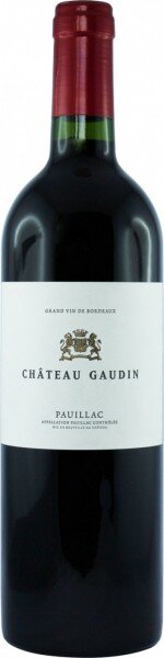 Вино Chateau Gaudin, Pauillac AOC, 2002