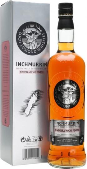 "Виски ""Inchmurrin"" Madeira Wood Finish, gift box, 0.7 л"