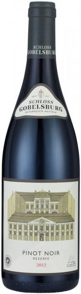 Вино Schloss Gobelsburg, Pinot Noir Reserve, 2012