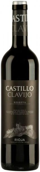 Вино Castillo Clavijo Reserva, Rioja DOC, 2008