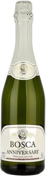 """Игристое вино """"Bosca Anniversary"""" Semi-Sweet, White Label"""