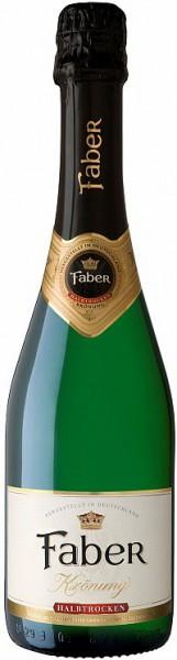 """Игристое вино """"Faber"""" Kronung medium dry"""