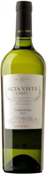 """Вино Alta Vista, """"Premium"""" Torrontes, 2012"""