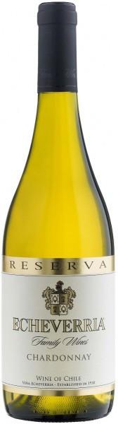 Вино Echeverria, Chardonnay Reserva, 2013