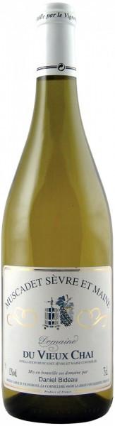 Вино Muscadet Sevre et Maine, Domaine du Vieux Chai AOC, 2013