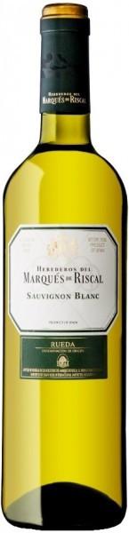 """Вино """"Herederos del Marques de Riscal"""" Sauvignon DO, 2016"""