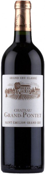 Вино Chateau Grand-Pontet, Saint-Emilion Grand Cru AOC, 2008