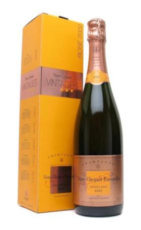 Шампанское Veuve Clicquot Vintage Rose 2002 gift box 0.75л