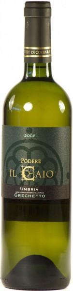 """Вино """"Podere Il Caio"""", Grechetto, Umbria IGT, 2006"""