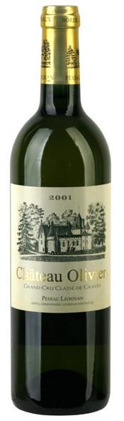 Вино Chateau Olivier Blanc AOC (Pessac-Leognan), 2001