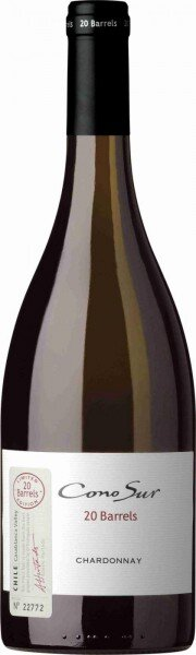 "Вино Cono Sur, ""20 Barrels"" Chardonnay, Limited Edition, Casablanca Valley DO, 2012"