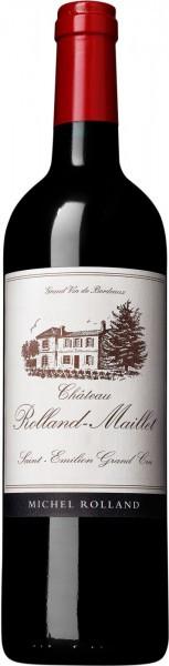 Вино Chateau Rolland-Maillet, Saint-Emilion Grand Cru AOC, 2010