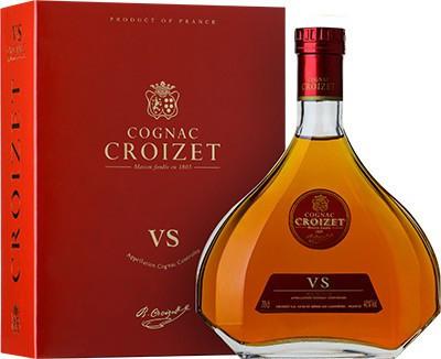 "Коньяк ""Croizet"" VS, Cognac AOC, in decanter & gift box, 0.7 л"