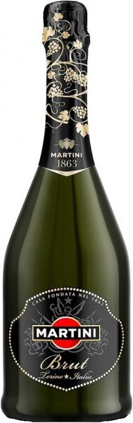 "Игристое вино ""Martini"" Brut"