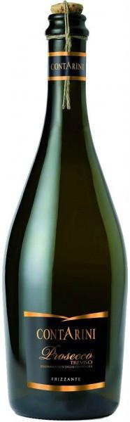 Игристое вино Contarini, Prosecco Frizzante, Treviso DOC
